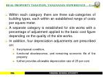 real property taxation tanzanian experience cont22