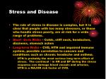 stress and disease