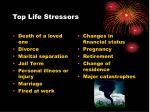 top life stressors