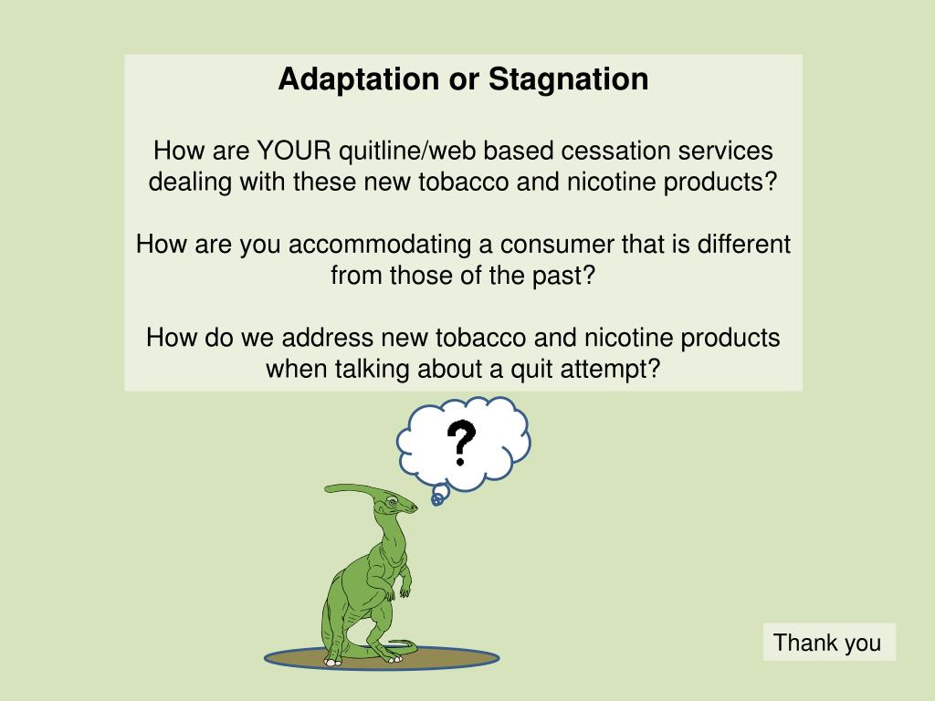 Adaptation or Stagnation