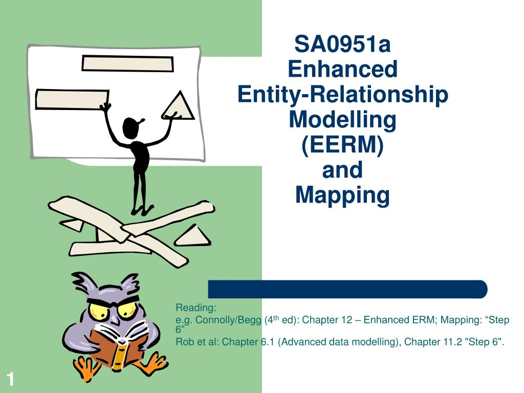 sa0951a enhanced entity relationship modelling eerm and mapping l.