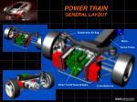 power train general layout