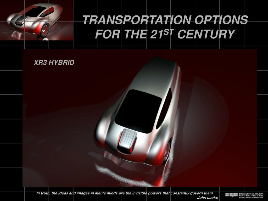 transportation options for the 21 st century l.
