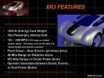 xr3 features