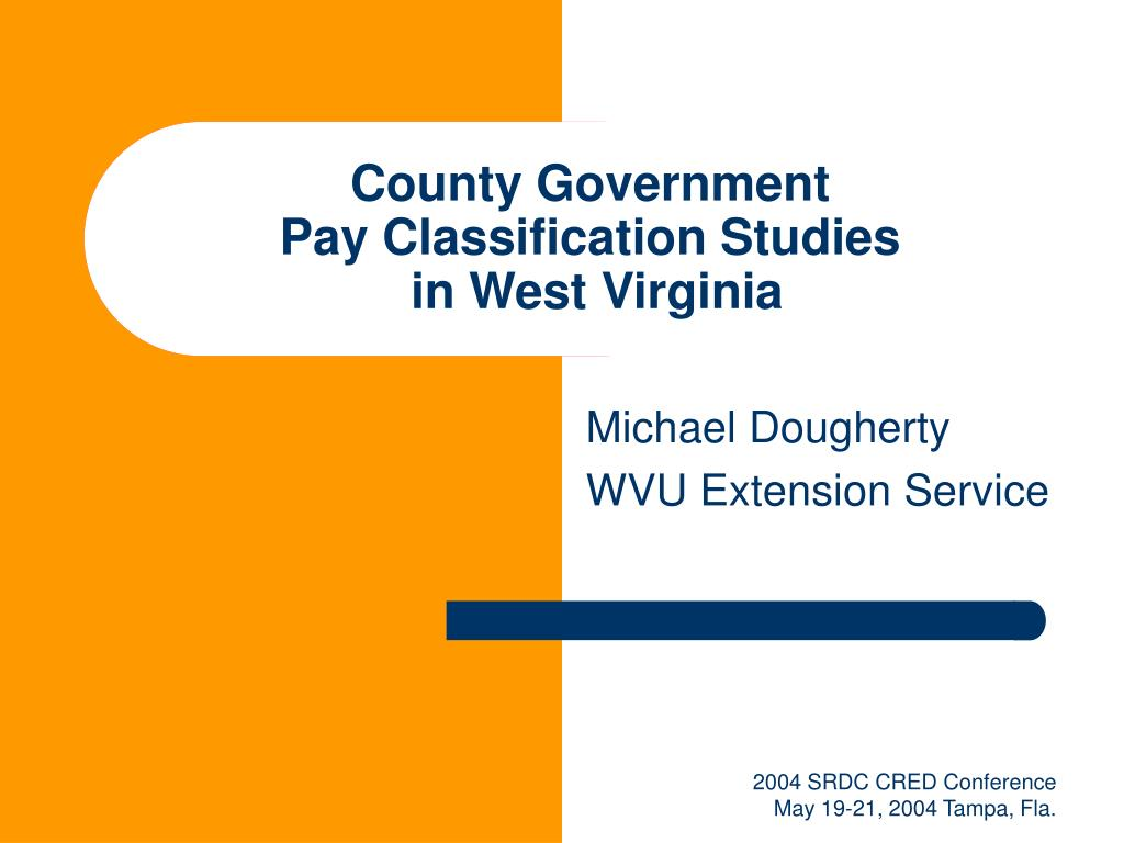 county government pay classification studies in west virginia l.