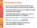 the arraylist class32