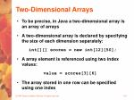 two dimensional arrays26