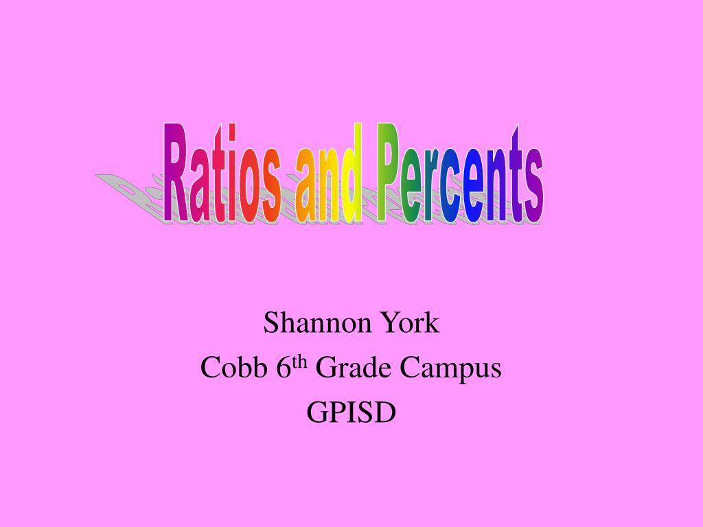 shannon york cobb 6 th grade campus gpisd l.