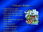 citizen s rights