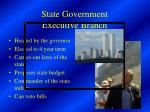 state government executive branch