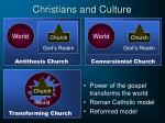 christians and culture10