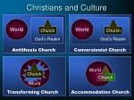 christians and culture12
