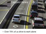 carpool lanes