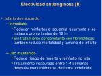 efectividad antianginosa ii53