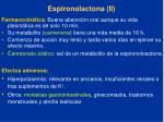 espironolactona ii