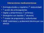 interacciones medicamentosas87