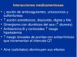interacciones medicamentosas91