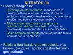 nitratos ii