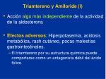 triamtereno y amiloride i