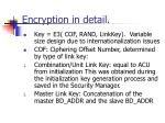 encryption in detail