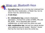 wrap up bluetooth keys