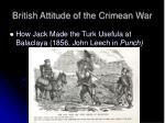 british attitude of the crimean war