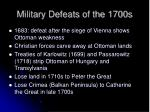 military defeats of the 1700s