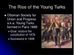 the rise of the young turks