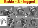 robix 3 legged