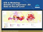 gis modeling details are important all data at parcel level