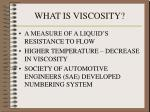 what is viscosity