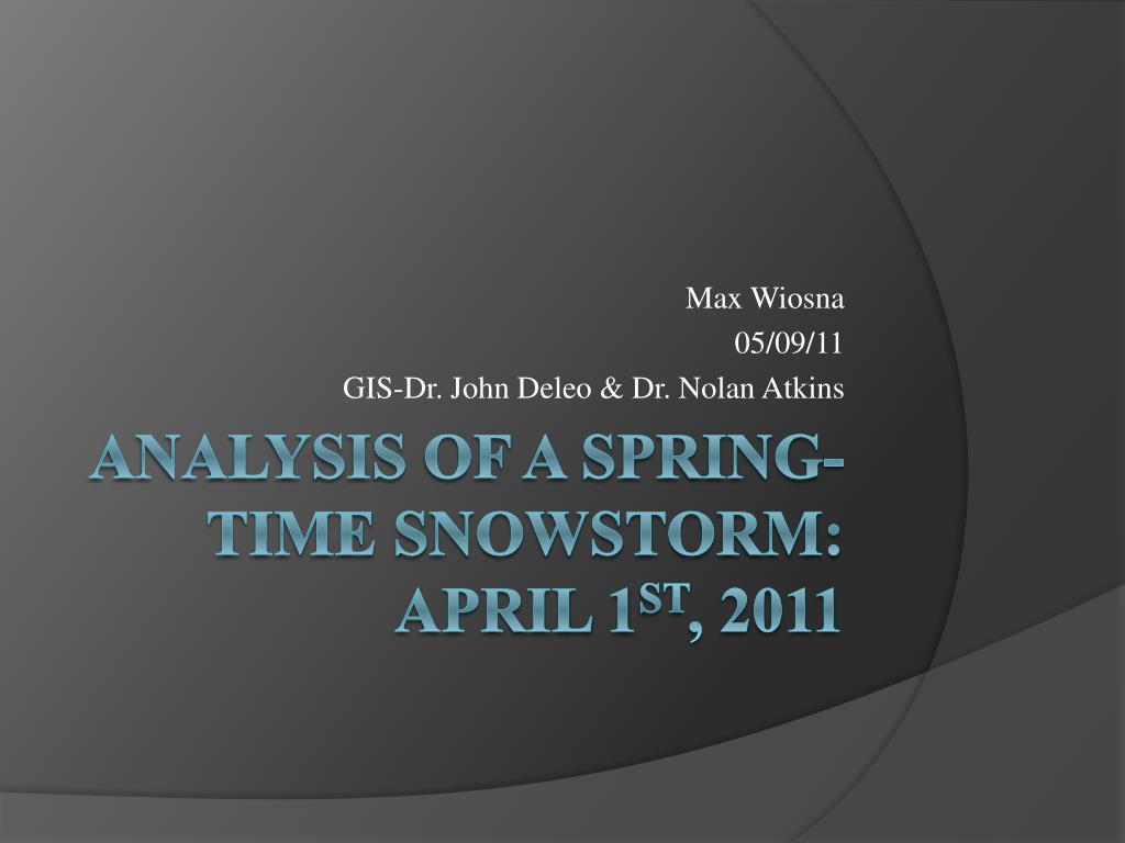 max wiosna 05 09 11 gis dr john deleo dr nolan atkins l.