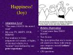 happiness joy