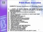 amron s ystem attributes of housing prices