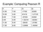 example computing pearson r