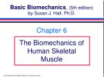 basic biomechanics 5th edition by susan j hall ph d