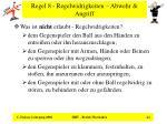 regel 8 regelwidrigkeiten abwehr angriff24