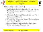 regel 8 regelwidrigkeiten abwehr angriff35