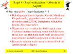 regel 8 regelwidrigkeiten abwehr angriff36