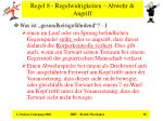regel 8 regelwidrigkeiten abwehr angriff38