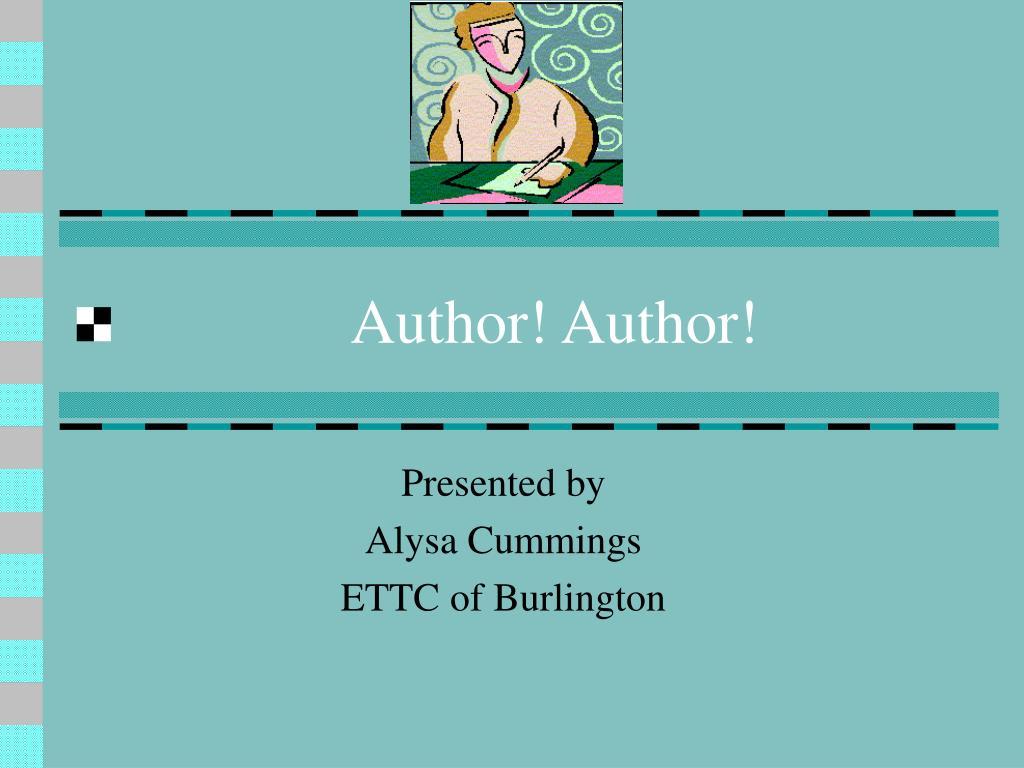author author l.