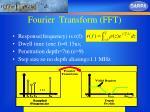 fourier transform fft