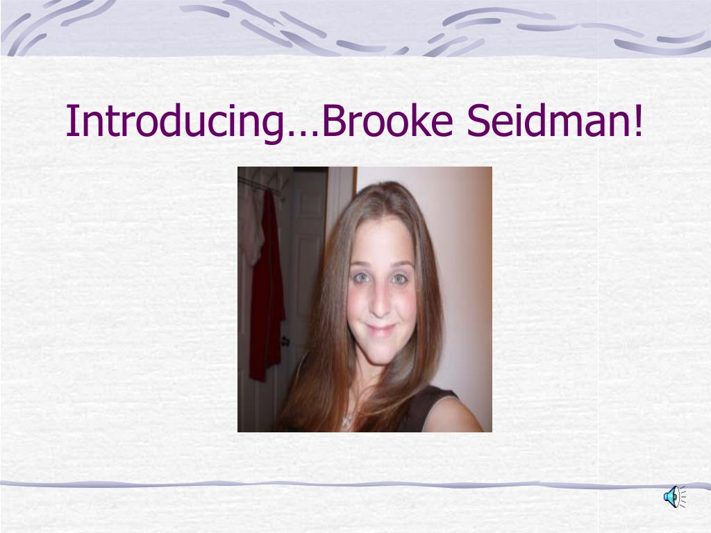 introducing brooke seidman l.