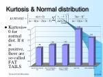 kurtosis normal distribution