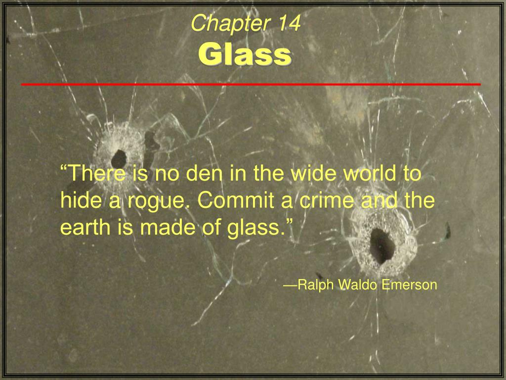 chapter 14 glass l.