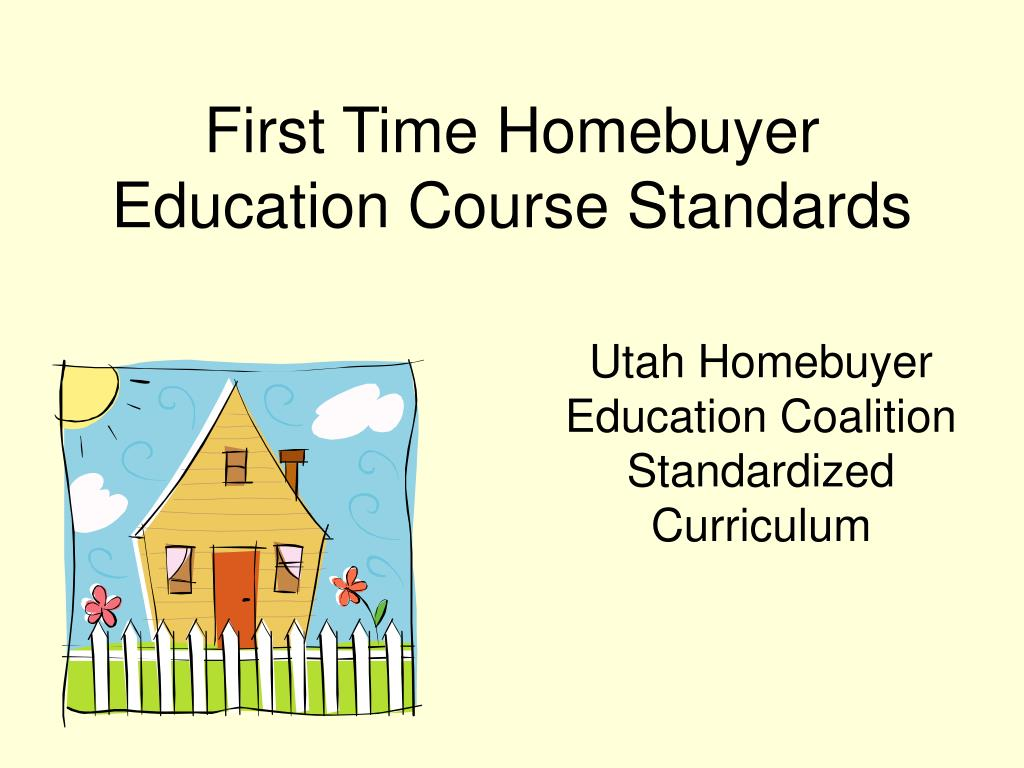 first time homebuyer education course standards l.