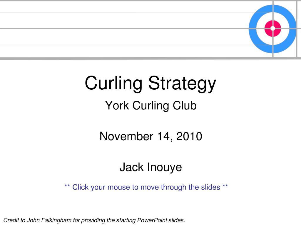 curling strategy l.