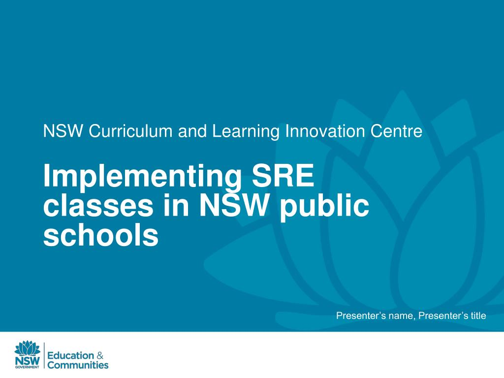 nsw curriculum and learning innovation centre l.