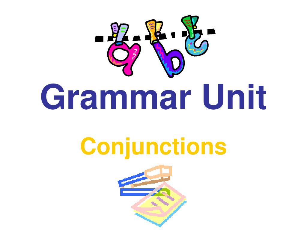 grammar unit l.
