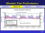 monitor fan performance